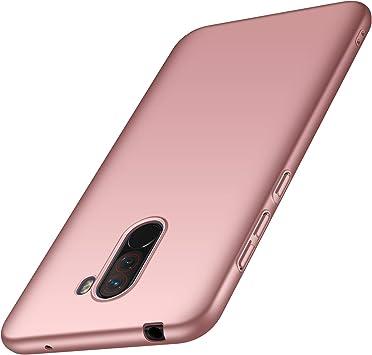 AOBOK Funda Xiaomi Pocophone F1, Ultra Slim Duro Fundas Anti ...