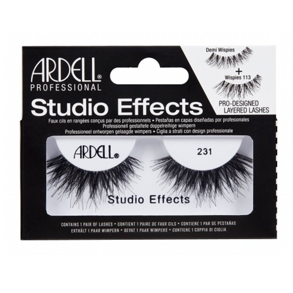 5dbe7839794 Amazon.com : Ardell Strip Lashes Studio Effects 231 : Beauty