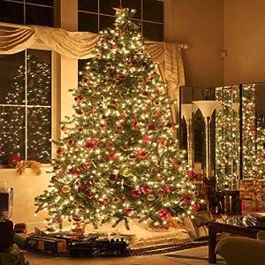 Amazon Com Gladsbuy Christmas Tree 10 X 10 Computer