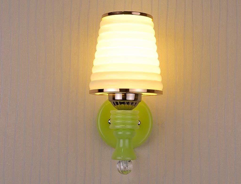 Noulerd Selbstmontage-Wandleuchte, die zu Einer Nachttischlampe geführt Wird Schlafzimmer Livg Room Dg Roomlightg Study Select (Stil  B)