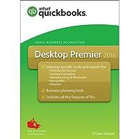 Intuit QuickBooks Desktop Premier 2018 - English Accounting Software 2018