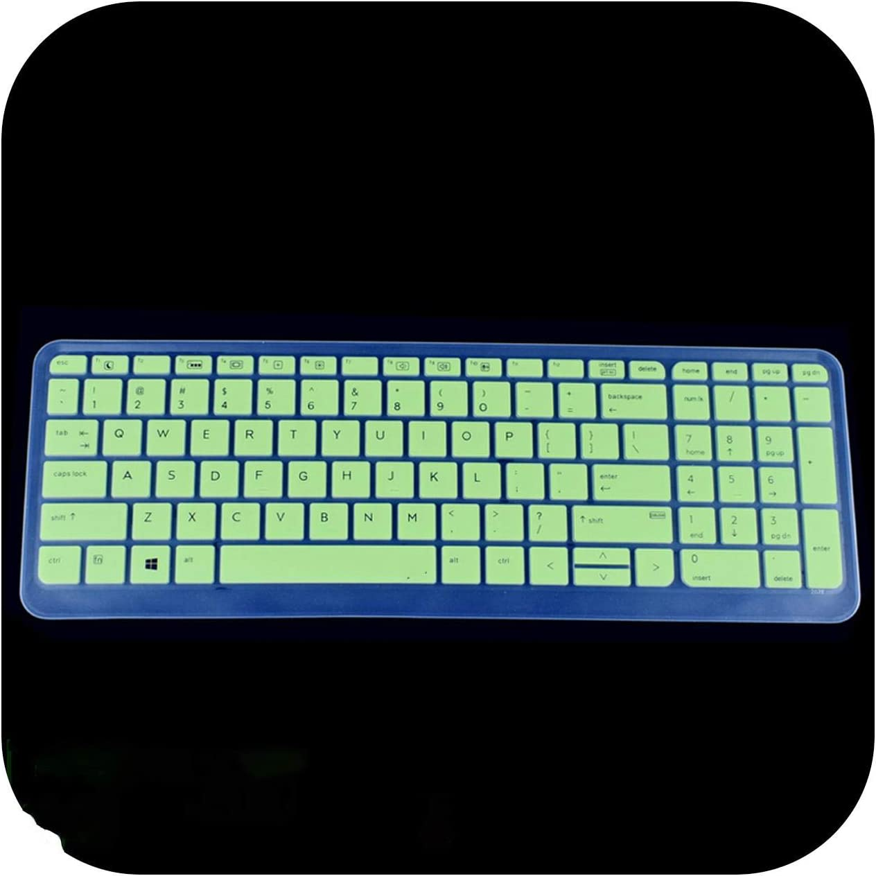 450 G3 G4 G5 455 G3 i5 i7 15.6 inch Silicone Keyboard Cover Protector-Transparent for HP PROBOOK 650 G2 G3 G4