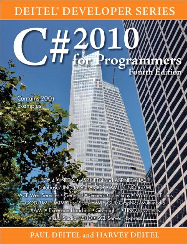 C# 2010 for Programmers, 4th Edition Front Cover