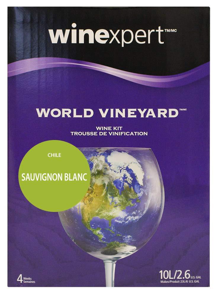 Winexpert HOZQ8-1554 Chile Sauvignon Blanc (World Vineyard) Ingredient Kit