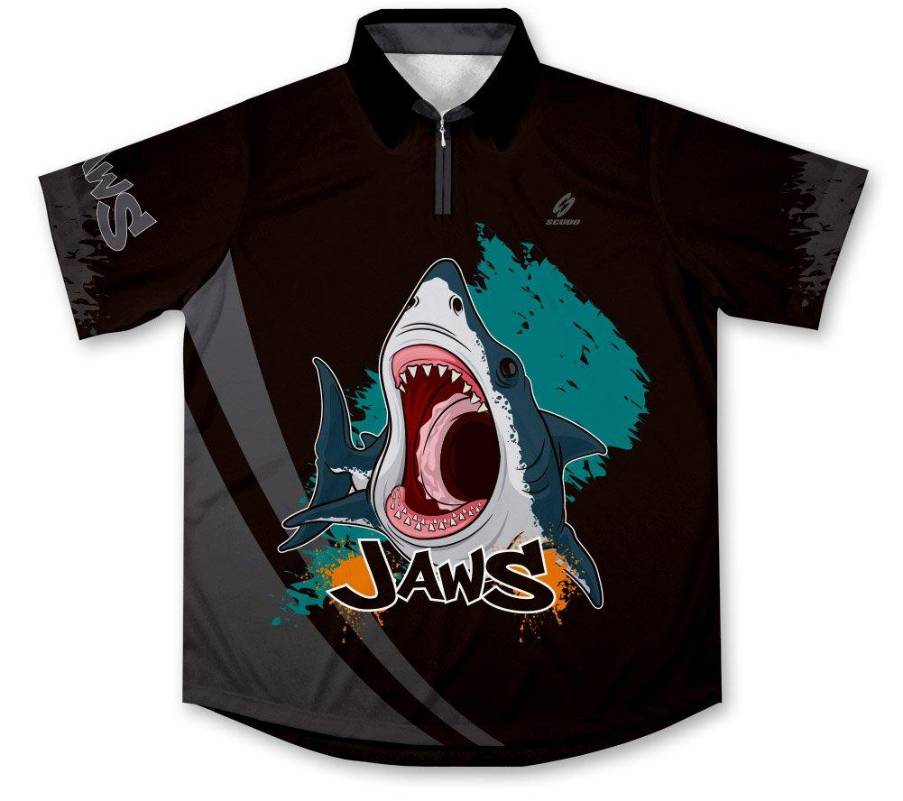 ScudoPro Jaws Hemd des Sportlichen Fischfangs