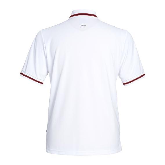 Fila buste-vêtements button piro polo pour homme S,M,L,XL,XXL Rouge - Rouge