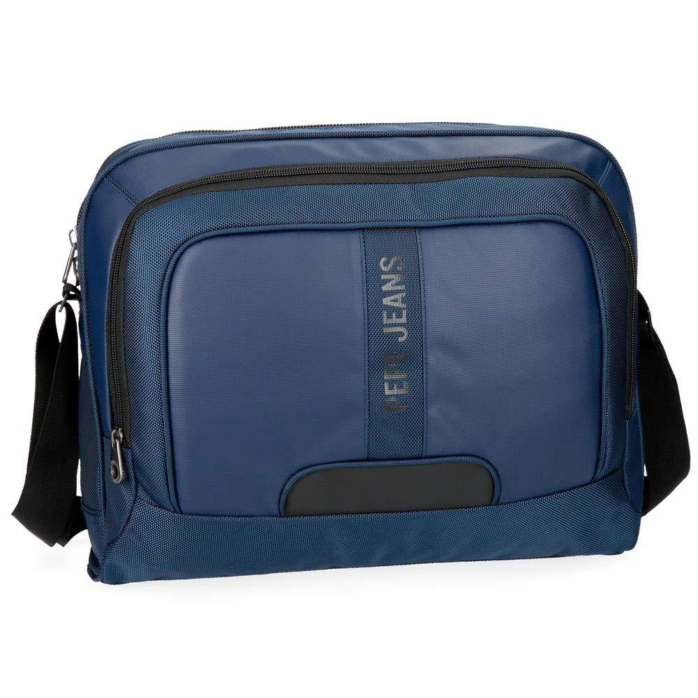 Pepe Jeans Bromley Maletí n, 39 cm, 13.3 litros, Azul 7355062