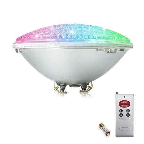 COOLWEST 18W RGB Iluminación de piscinas LED, para el reemplazo de bombilla halógena 150W PAR56