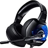 ONIKUMA Auriculares Gaming 7.1 con Micrófono para PS4/PC/Xbox One/Nintendo Switch