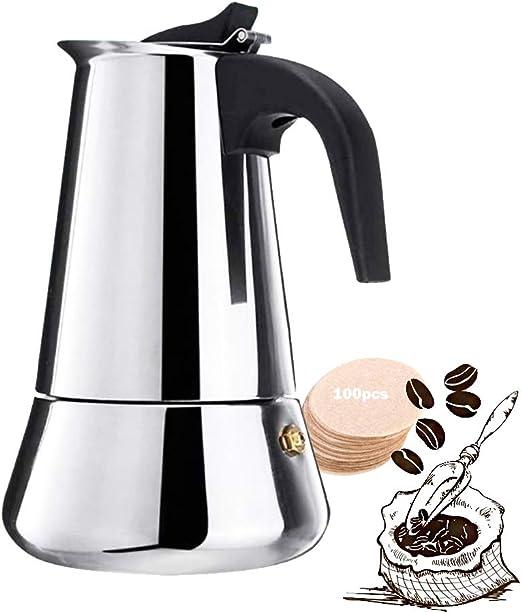 Italian Espresso Maker 1 2 /& 9 Cup Italian Stove Top Coffee Percolator Moka Pot