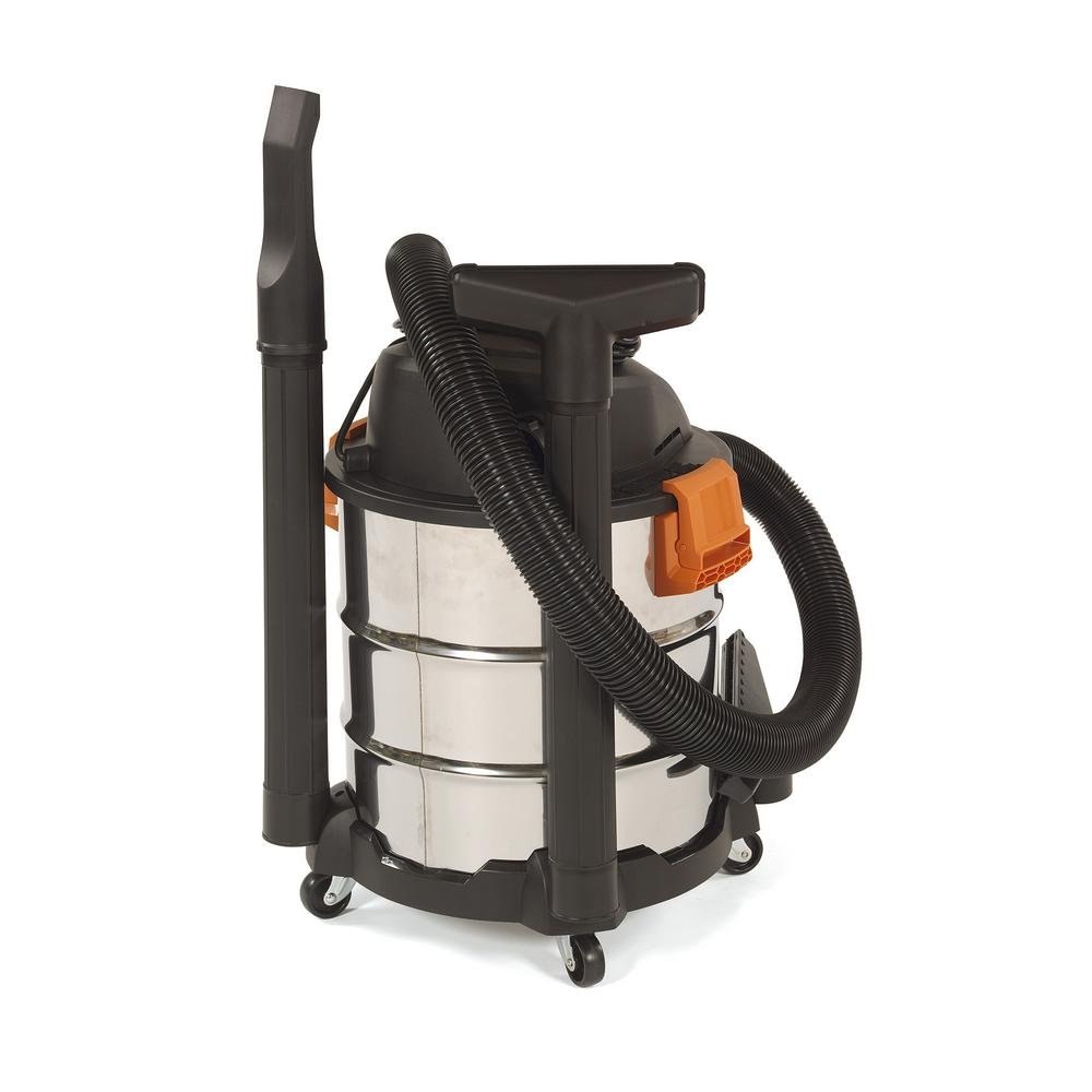 RIDGID 10 Gal. 6.0 Peak HP Stainless Wet Dry Vacuum WD1060 Vac + Toucan City Tile and Grout Brush by Ridgid + Toucan City (Image #7)
