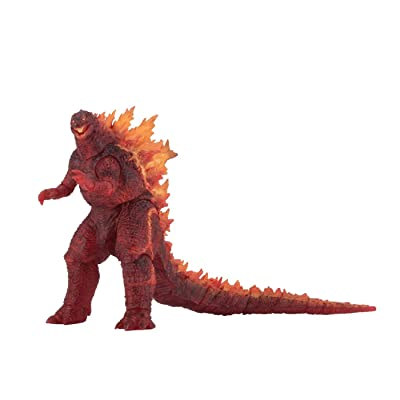 "NECA Burning Godzilla King of The Monsters 12"" Head to Tail, Exclusive: Toys & Games"
