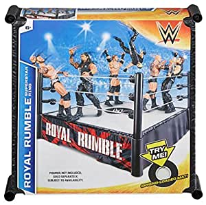 Wwe Royal Rumble Superstar Ring With Pro-tension Ropes