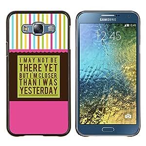 Eason Shop / Premium SLIM PC / Aliminium Casa Carcasa Funda Case Bandera Cover - Aa Alcohólicos Anónimos - For Samsung Galaxy E7 E700