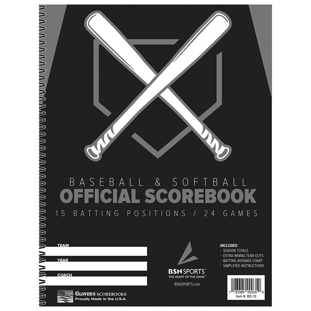 BSN béisbol/Softball scorebook: Amazon.es: Deportes y aire libre