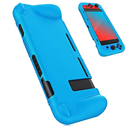 Fintie Silicone Case for Nintendo Switch - Soft [Anti-Slip] [Shock Proof