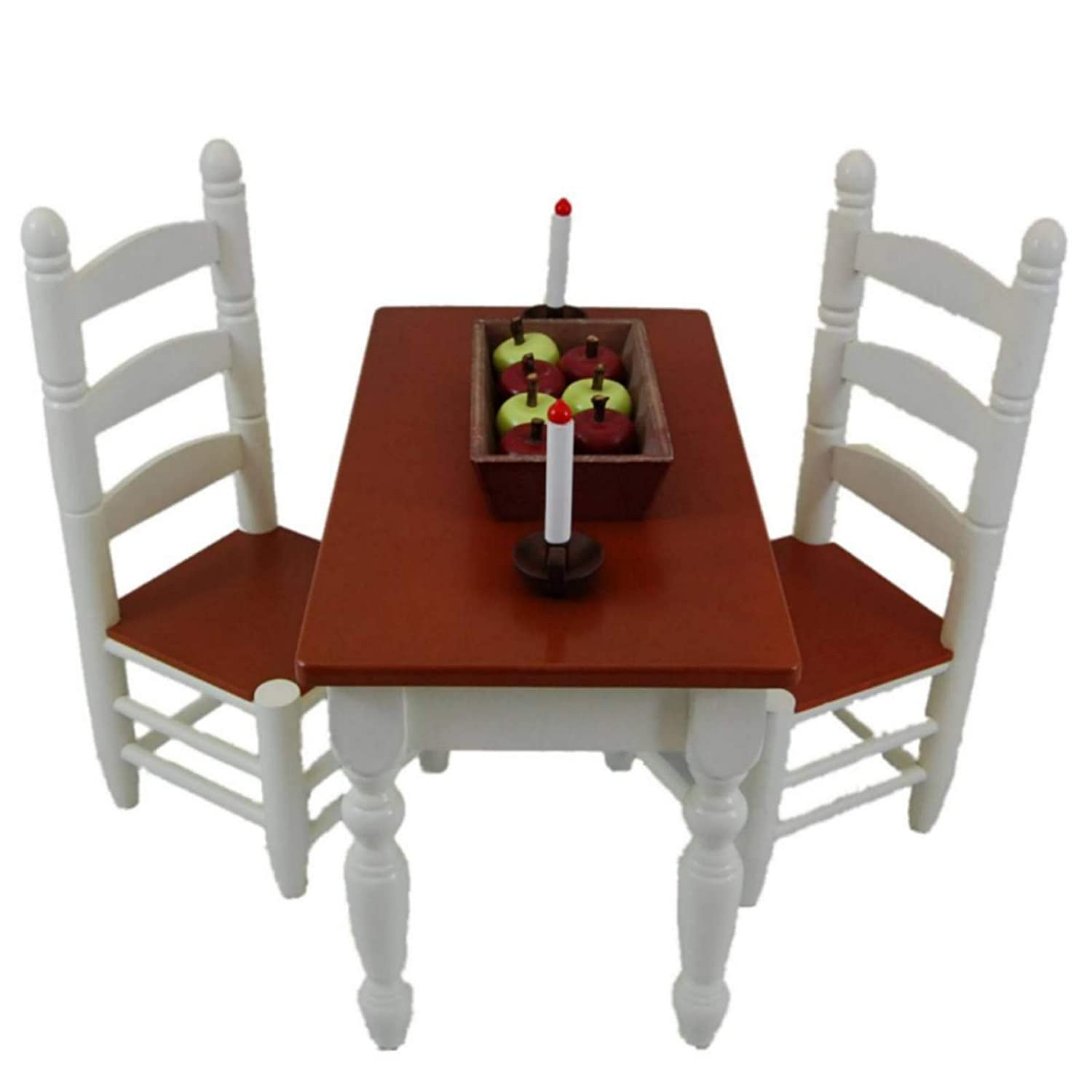 Farmhouse Collection Kitchen Table & Chairs, Fits 18 Inch
