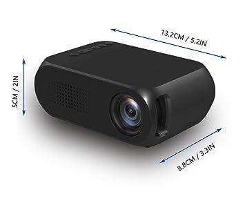 Amazon.com: Mini proyector ppr02, LED portátil proyector ...
