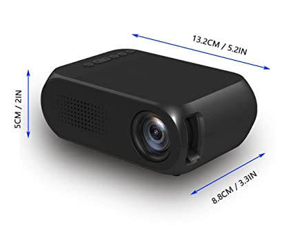 Amazon.com: Mini Projector PPR02, Portable LED Projector ...