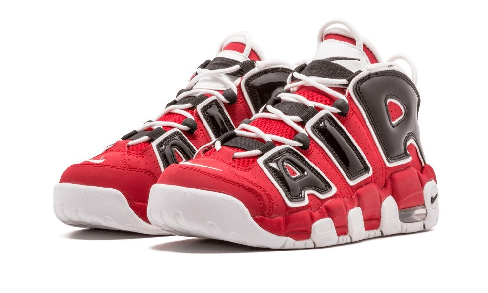Nike Air More Uptempo Big Kids Style: 415082-600 Size: 5 Y US by NIKE