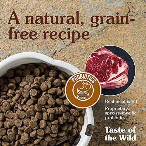 Taste of the Wild High Prairie Grain-Free Dry Dog Food with Roasted Bison & Venison 30lb