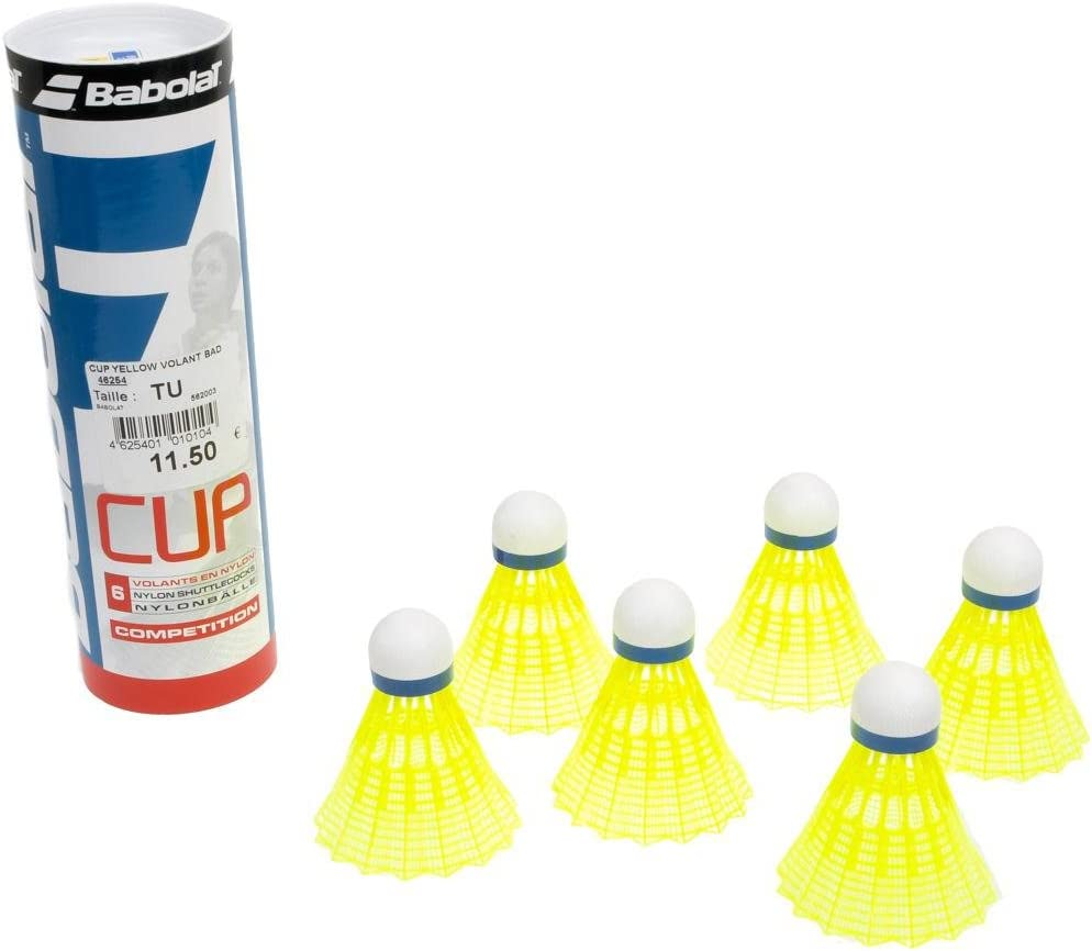 Jaune Cup Yellow Volant Bad Babolat Volants Badminton Taille TU