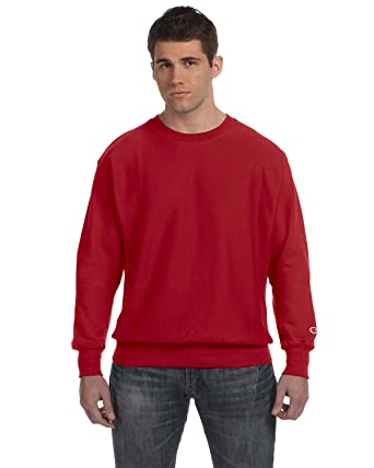 a302d307 Champion Men`s Reverse Weave Crew at Amazon Men's Clothing store: