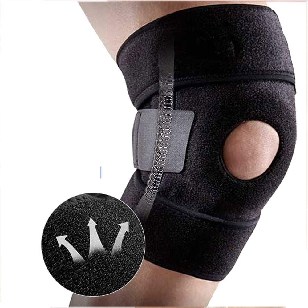 ZCF Basketball Badminton Running Sports Soccer Knee Injuries Men and Women Warm with Meniscus Knee Protectors (Color : E)