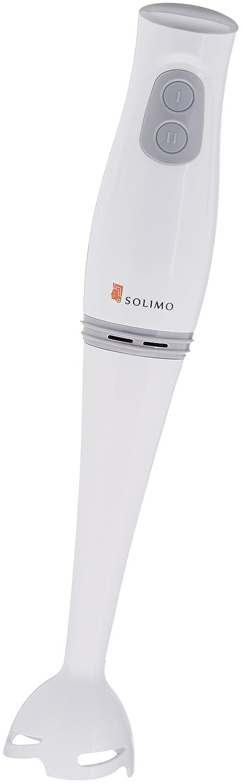 Amazon Brand - Solimo 200-Watt 2-Speed Hand Blender (Plastic)