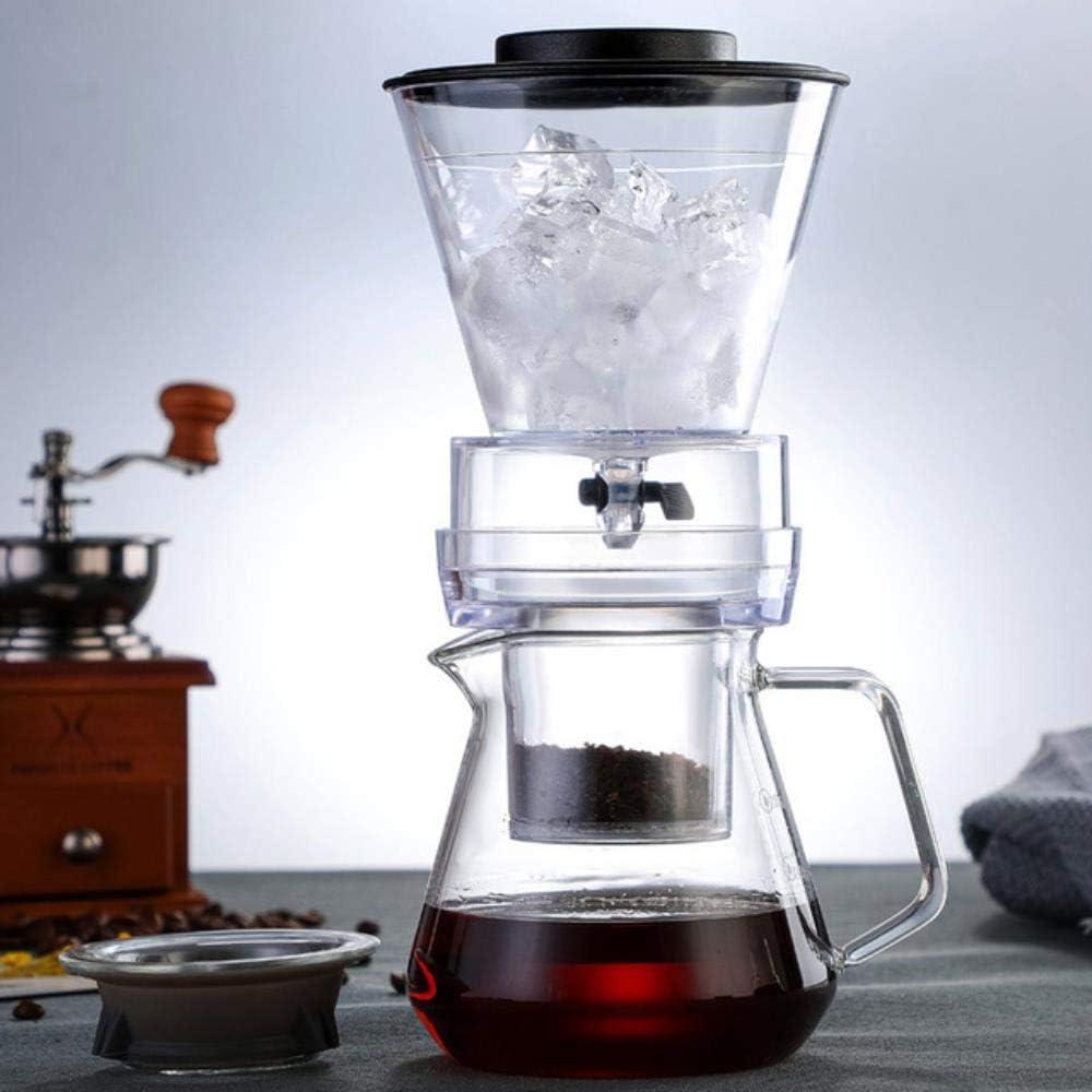 Homie Cafetera de preparación fría de 500 ml con Filtro de Acero ...