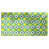 Fancy Turtle Rectangle Tablecloth: Medium Dining Room Kitchen Woven Polyester Custom Print
