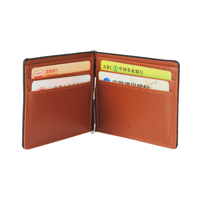 Amazon.com: Monedero Clip Mental RFID Slim Abrazaderas para ...