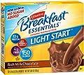 Carnation Breakfast Essentials Light Start Powder Drink Mix, Rich Milk Chocolate, 8-Count Box