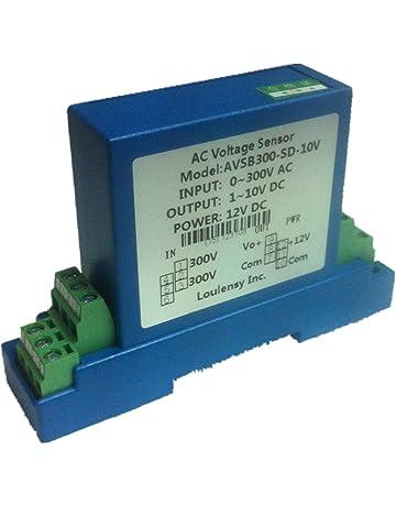 DC Voltage Transducer Voltage Sensor Transmitter Transformer Input 0-350V DC Output 0-5V DC