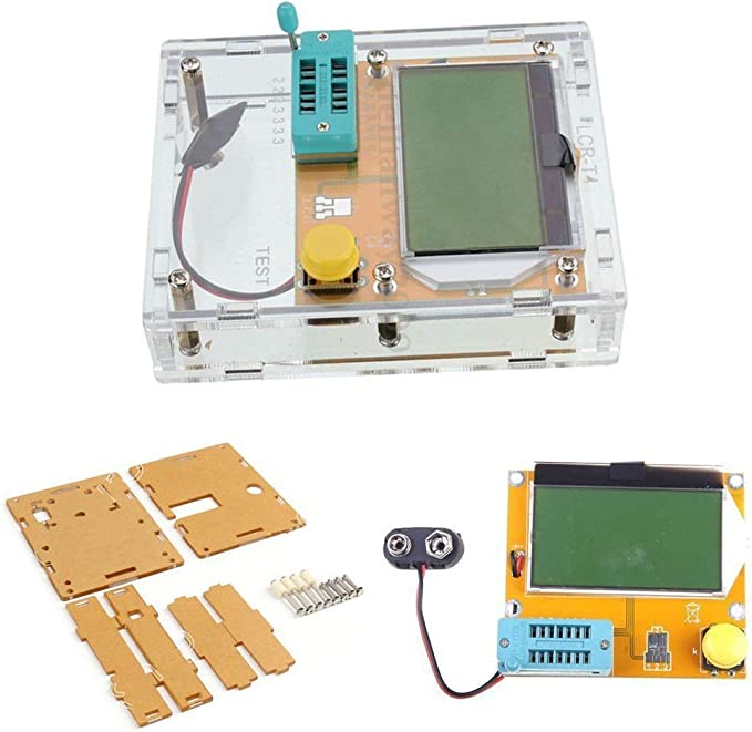 Coomir LCR-t4/ESR M/ètre testeur de Transistor diode Triode Capacitance SCR Inductance M328