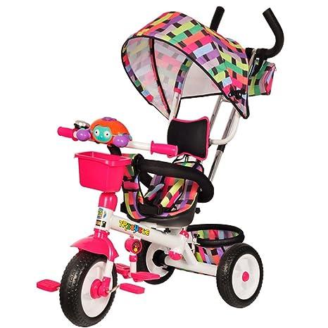 Cochecito de niño triciclo bebé, bicicleta niño, bicicleta, carrito de bebé, 6