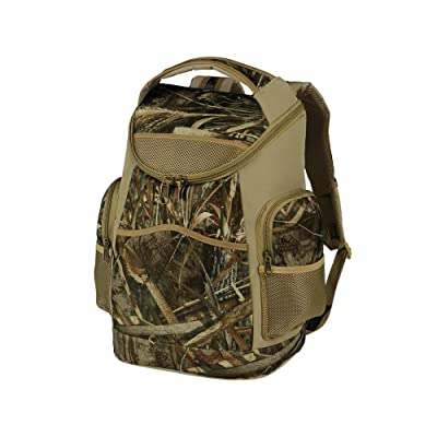 "12"" Realtree Camo 20 can backpack cooler (Weather and water resistant!)"