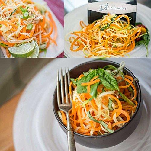 life dynamics spiral slicer zucchini pasta maker vegetable import it all. Black Bedroom Furniture Sets. Home Design Ideas
