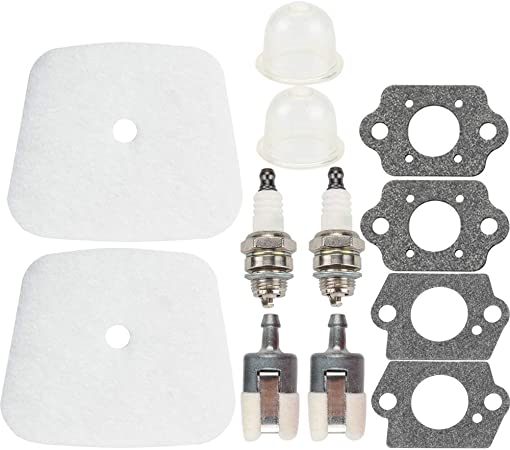 Lawnmower Fuel line Tune Up Service Air Filter Kit For All New Mantis Part For Echo Tiller