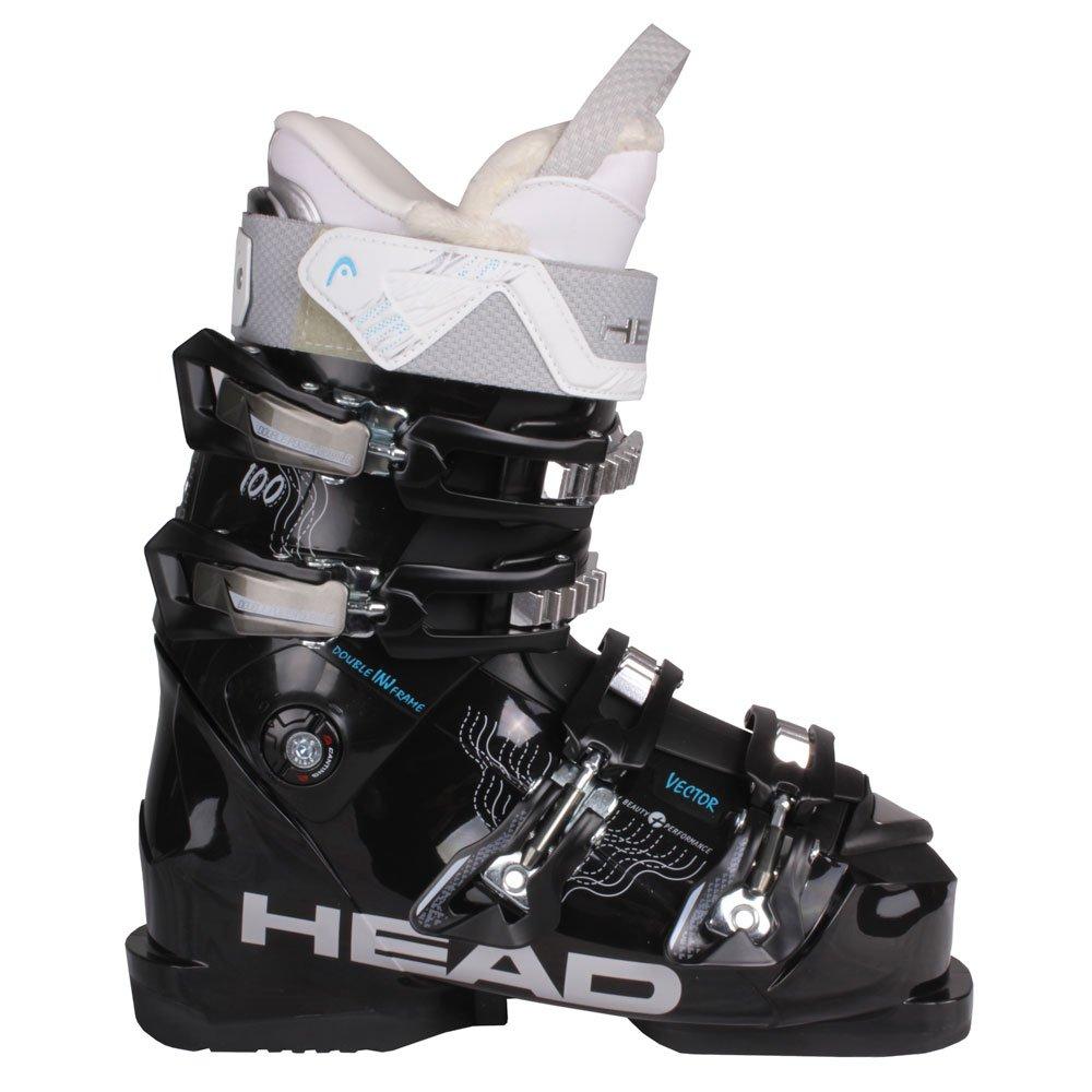 HeadスキーブーツVector 100 MYAレディース B00Y1O8H8S 25.5|ブラック ブラック 25.5