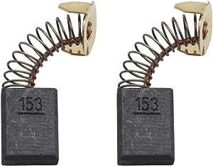 Carbon Brushes Compatible for Makita Cb154, Motor Carbon Brush Set Replaces Makita 194986 Power Tools (2 Packs)