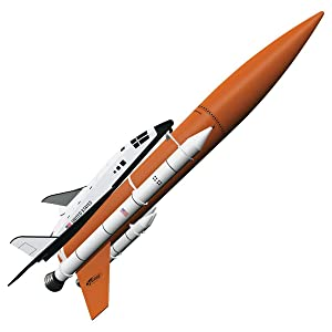 Estes LEPUSHPDJ123 Rockets 7246 Shuttle Model Rocket Kit, Skill Level 5, Brown