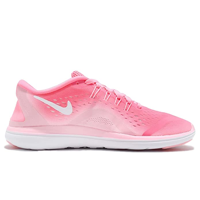 Wmns Nike Flex 2017 RN Pink Sunset Pulse Women Running Shoes Sneakers 898476-601