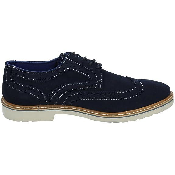 Refresh 63224 Zapato Moda Azul Hombre Zapatos Cordón Marino 44 Z2ZeLKOnvv