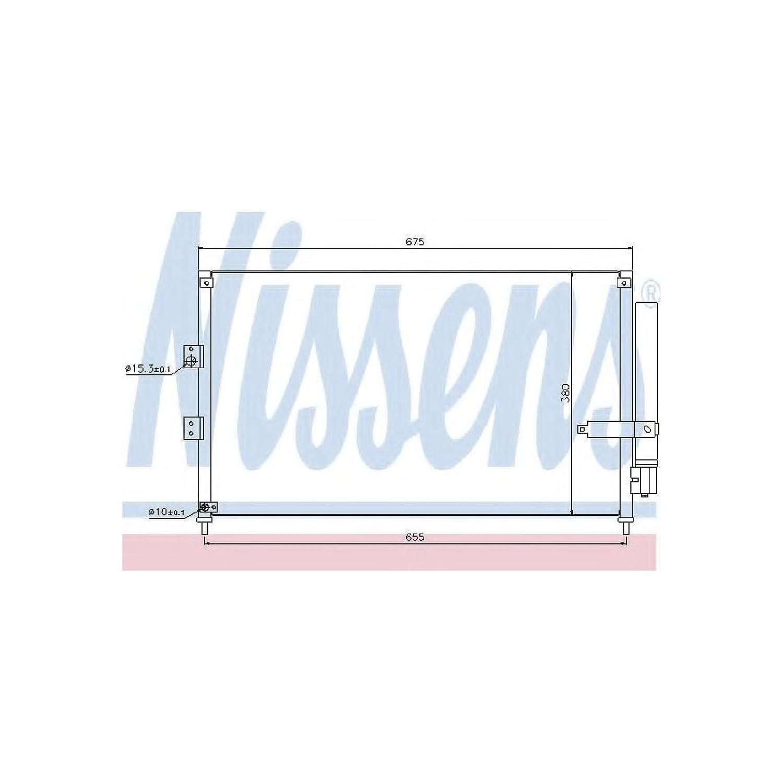 NISSENS 940197 Kondensator Klimaanlage