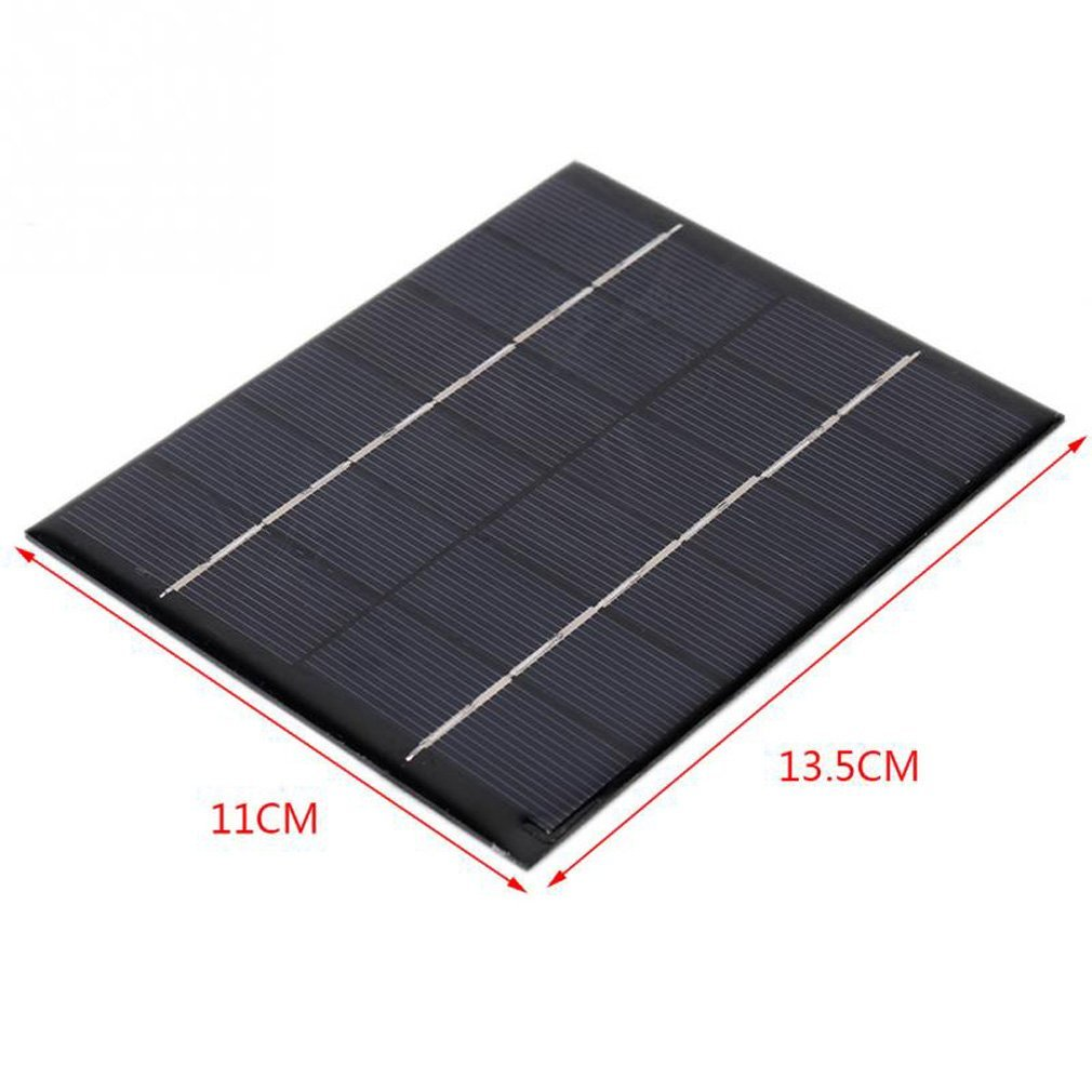 Maelu 1pc 2w 6v Mini Solar Panel Module System 7805 Voltage Regulator Circuit Further Battery Charger Kit Epoxy Cells Diy Garden Outdoor