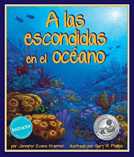 A Las Escondidas en el Oceano (Spanish Edition) [Jennifer Evans Kramer] (Tapa Blanda)