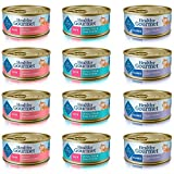 Blue Buffalo Healthy Gourmet Cat Food Variety Pack - 12 cans, 3 Flavors