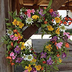 """Flora Decor Parade Wreath 22"""" 95"""