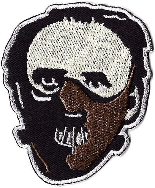 Parche de máscara del Dr. Hannibal Lecter bordado, insignia de ...